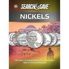 Search & Save: Nickels Book~History~Varieties~Album Display Page~NEW HC!