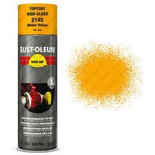 x 15 INDUSTRIEL Rust-Oleum MELON JAUNE Peinture aérosol solide CHAPEAU 500ml RAL