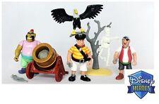 Rare Disney Heroes Famosa Peter Pan Pirates figures toys play set