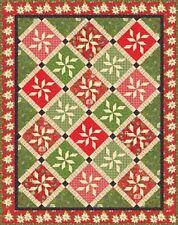 Tole Christmas MODA Quilt Kit - Christmas Fabric + Winter Wonderland Quilt Book