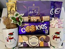 LUXURY CHRISTMAS FOOD TREATS GIFT HAMPER BOX SET FAMILY FRIENDS COUPLES PRESENT