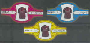 3 sigarenbandjes Voetbal Shirts - F.C. Twente (a07) - Lees !!!