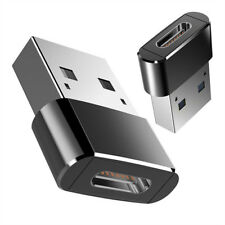 Black USB 3.0 (Type-A) Male to USB3.1 (Type-C)Female Converter Adapter Connector