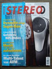 STEREO 10/02,  AVM  INSPIRATION A6,OCTAVE V 40,LINN 2250,LUA CANTILENA SEL,AUDIO