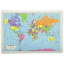 Painless Learning Placemat: The World