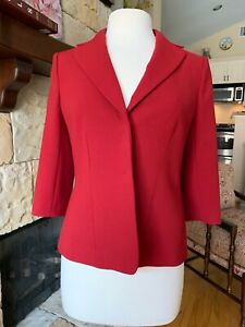 Ann Taylor Red Jacked New with Tags Wool