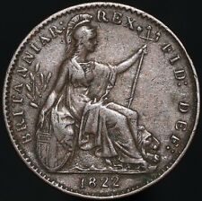 More details for 1822 | george iiii farthing | copper | coins | km coins