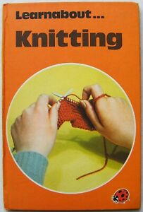 Vintage Ladybird Book – Knitting – Learnabout Series 634 – Good/Very Good