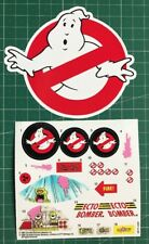 Ghostbusters Ecto-Bomber custom vintage decals/stickers die cut best quality