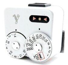 Voigtlander VC Silver Light Meter with shoe for Leica Rangefinder film camera