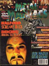 Metal Maniacs January 2001 Rob Halford, Nile, Watchtower VG 070816DBE