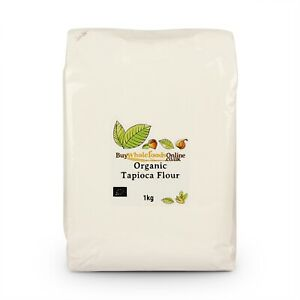 Organic Tapioca Flour (Starch) 1kg   Buy Whole Foods Online   Free UK Mainland P