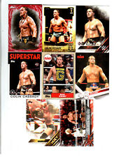Big Cass Wrestling Lot of 8 Different Trading Cards 1 Insert WWE NXT BC-C1