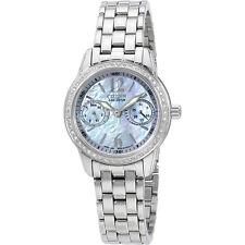 Citizen Silhouette Eco-Drive Mother Of Peral Dial Quartz Ladies Watch FD103056Y