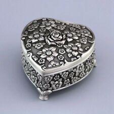 Tin Alloy Heart Flower Music Box Pandora Heart - Everytime You Kissed Me
