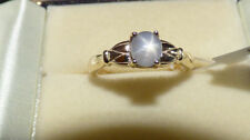 Cabochon Solitaire Natural Yellow Gold Fine Rings