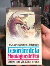 ldvelh un livre dont vous etes le heros / le sorcier de la montagne de feu