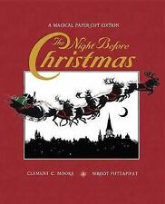 The Night Before Christmas: A Magical Cut-Paper Edition by Moore, Clement C.