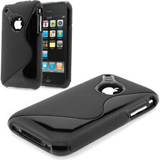 Apple iPHONE 3G 3GS S-Line TPU Case Silikon Hülle Tasche Cover Schutz
