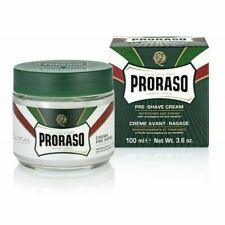 Proraso Pre-Shave Cream - Refreshing and Toning Formula 3.6oz- Green