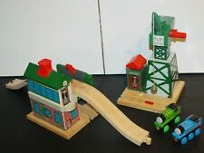 Thomas & Friends Wooden Train Tank Talking Railway RFID Cranky Suddery Lot Percy