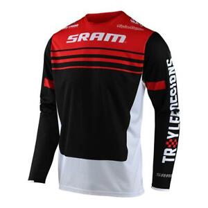 Troy Lee Designs Mens Sprint Formula Bike Jersey Sram Red/Black All Sizes