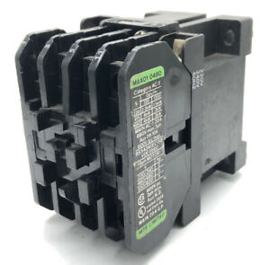 Cosmetic points* MTE MAX01 0480 Contactor 415v 4kW COIL 220v/240v 50Hz 240Volts