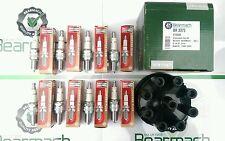 Land Rover Defender 90, V8, Spark Plugs & Distributor Cap, OEM Champion