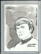 Walter Koenig 2011 Leaf National Convention Artist Sketch Card #1/1 (Kevin John)