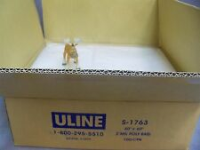 """40"""" x 60"""" 2 Mil Industrial Poly Bags ULINE S-1763 Case of 100 Bags Open Top"""