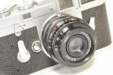 INDUSTAR 3.5,/50 mm, rangefinder lens M39/ LTM screw for Leica, Voigtlander