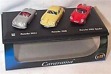 Porsche 3 car set No1 356B & 550A new in display case