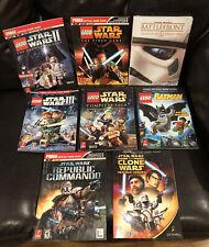 STAR WARS Strategy Guide Lego The Clone Wars Republic Commando III Batman