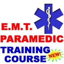 Emergency Medical Technician EMT Paramedic Medic Instruction Course Manual CD
