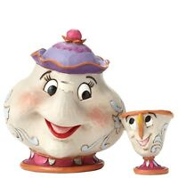 NEW OFFICIAL Disney Traditions Mrs Potts and Chip A Mother's Love Figure 4049622