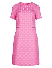 M&S COLLECTION Jacquard Zip Waist A-Line Shift Dress Size UK22/EUR50 Standard
