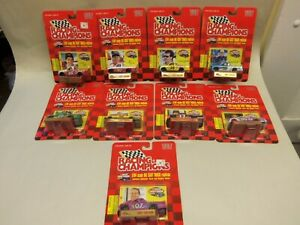 (9) 1997 Racing Champions NASCAR CRAFTSMAN TRUCK 1:64 scale TRUCKS