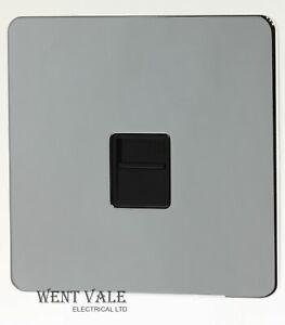 GET Ultimate Screwless - 70863 - Polished Chrome Master Telephone Socket