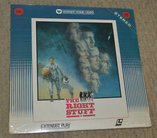 Sellado LD Laserdisc the right stuff ED HARRIS DENNIS QUAID SCOTT GLENN NASA