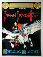 Frank Frazetta Shining Knight Pegasus Art Dc Masterwork Series 1 Western 1983