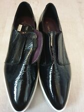 Womens Next Signature Pump Shoes Glossy Black Bnwt Rrp £60 Size Uk 7