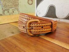 Tan Leather Belt Size 34