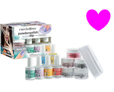 New CUCCIO Pro Powder Polish Dip NAIL COLOR Dipping Starter Kit Like Gel Acrylic