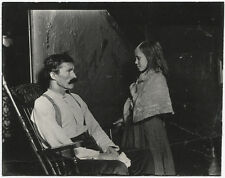Lewis HINE: Sick Father, Tenement house, NYC, 1915 / VINTAGE / STAMPED! / LH098