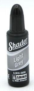 Ammo AMIG-0856 Light Grey Shader [10ml] (Shaders) Acrylic Paint by Mig Jimenez