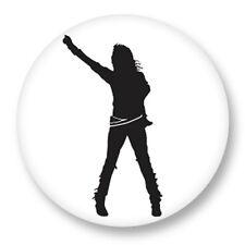 Pin Button Badge Ø38mm Michael Joseph Jackson King of Pop MJ Bad Disco Funk