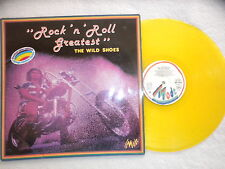 """LP THE WILD SHOES """"Rock n roll greatest"""" MODE MD 9030 Yellow LP µ"""