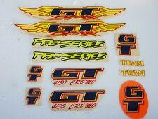 Old school bmx gt decal sticker freestyle race