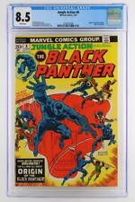 Jungle Action #8 - CGC 8.5 VF+ Marvel 1974 - ORIGIN of the Black Panther!!!