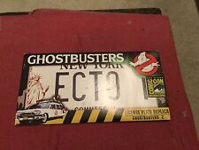 Ghostbusters Ii - Ecto 1 License Plate Replica from Sony Extremely Rare 2011